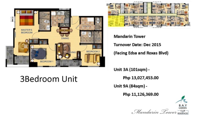 3 br mandarin bay garden for sale