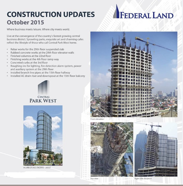 central park west updates oct 2015